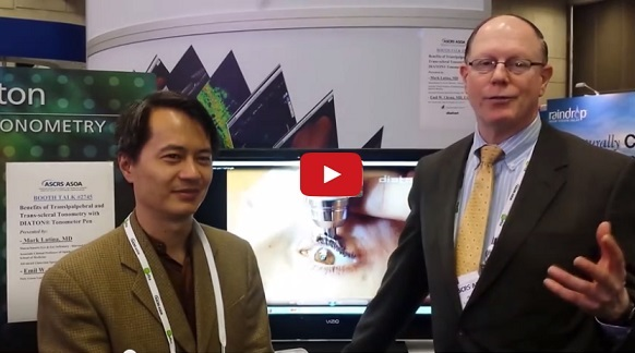 Dr Mark Latina and Dr Emil Chynn Review Benefits and Advantages of Diaton tonometer