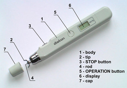 Figure 1 - the appearance of the tonometer